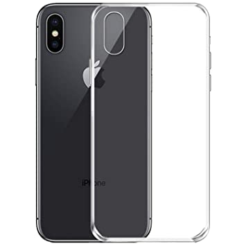 the best attitude 4e0a1 d18f1 NEW C Coque pour iPhone X,   Ultra Transparente Silicone en Gel TPU Souple