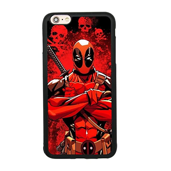 Amazon.com: Ninja Deadpool Skull Case for iPhone 6 Plus/6S ...