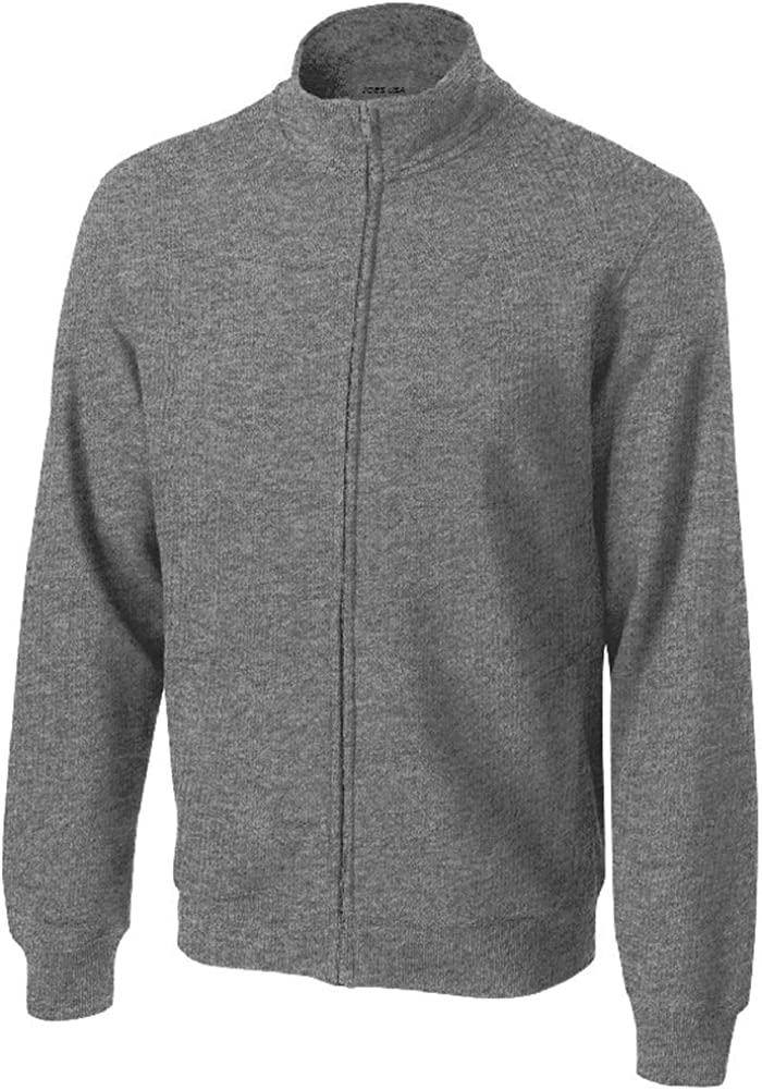 Mens Athletic Full-Zip Sweatshirts in Regular, Big and Tall