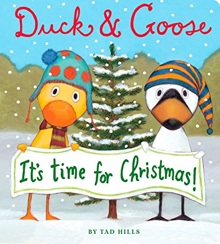 Duck & Goose, It's Time for Christmas! (Oversized Board Book)]()