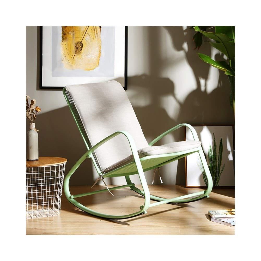 Amazon.com: LXJYMXCreative Silla de salón mecedora, Lazy ...