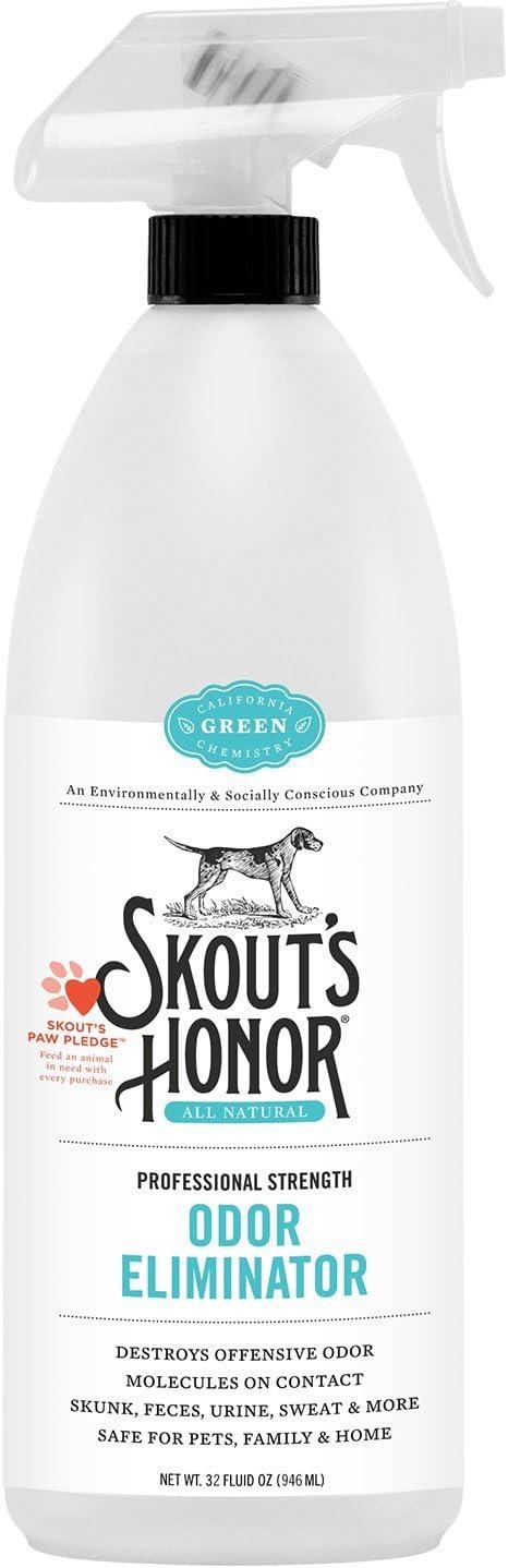 SKOUT'S HONOR Professional Strength Dog Odor Eliminator