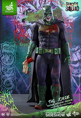 Hot Toys Exclusive The Joker (Batman Imposter Version) Suicide Squad Movie Masterpiece Series Sixth Scale Collectible Figure MMS384 - Exclusive Hot Toys