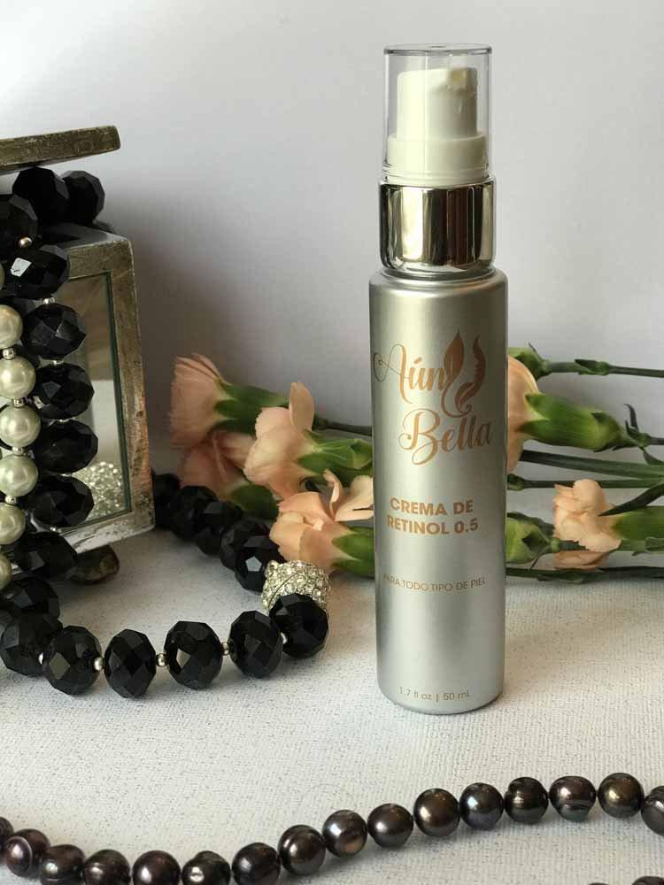 Amazon.com: Aun Bella RETINOL TREATMENT 0.5 - Crema De Retinol 0.5 - Reduces wrinkles and fine lines, Best Anti-aging formula, Maximum Strenght 0.5 Pure ...