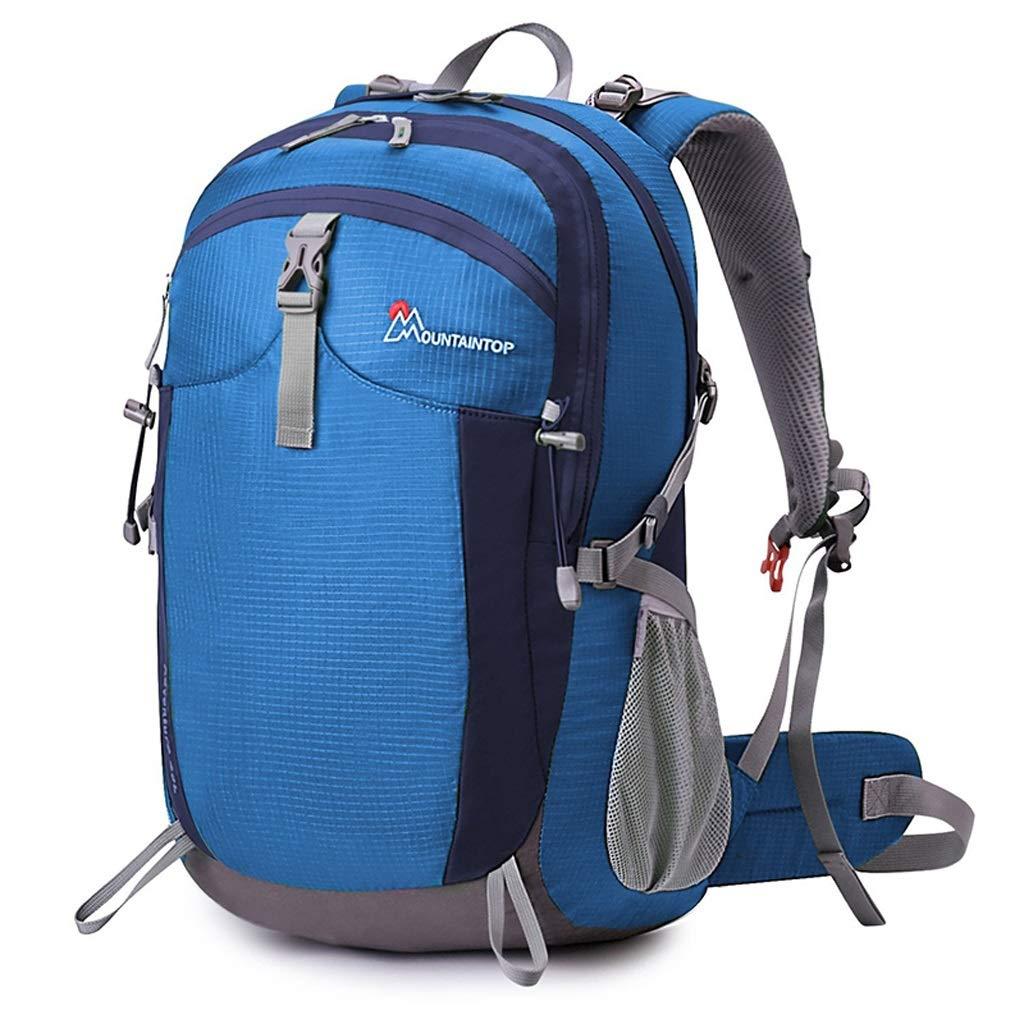 屋外バックパック ハイキングバックパッククライミングキャンプバックパックメンズ&レディース40L HBJP (色 : D) B013545PDO D