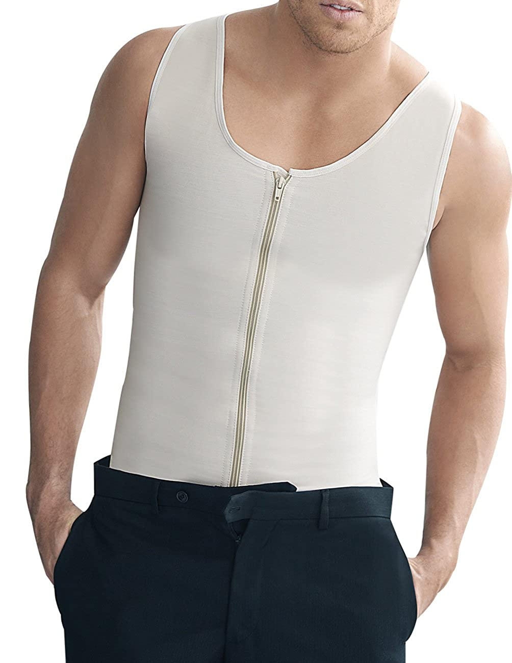 Ann Chery Mens Latex Girdle Body Shaper 2034 Vest