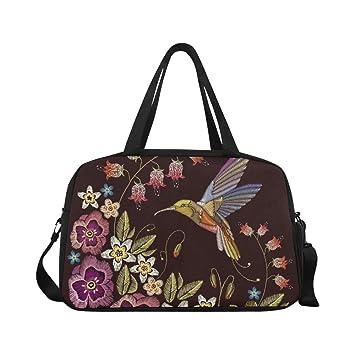 Amazon.com: Bolsas de yoga con diseño de pájaros con flores ...