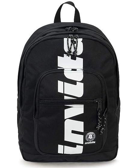 nuovo stile 99ad4 0a8e0 ZAINO INVICTA - JELEK - Logo Black - tasca porta pc padded - 38 LT - Scuola  e tempo libero