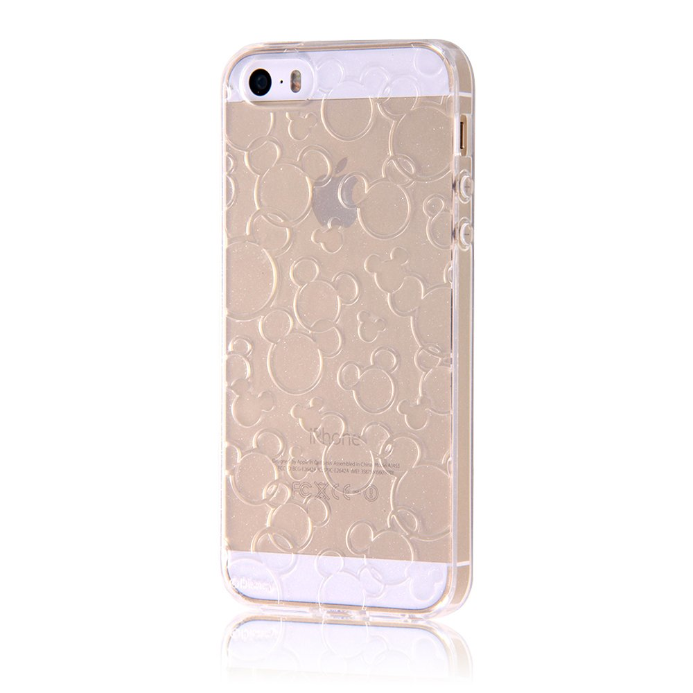 6c7b355ce8 レイ・アウト iPhone SE / iPhone5s / iPhone5 ケース ディズニー TPUソフトケース キラキラ クリア