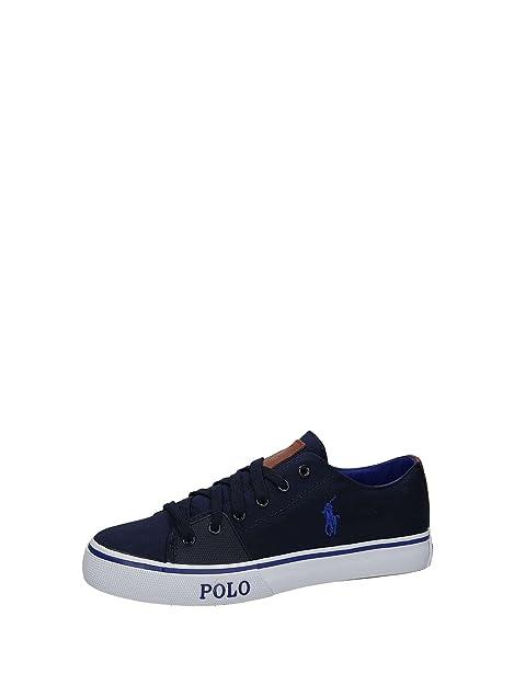 Zapatillas Polo Ralph Lauren Cantor Azul - Color - Azul, Talla ...