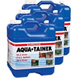 Reliance Products Aqua-Tainer 7 Gallon Rigid Water Container Pack of 3 (7 Gallon)