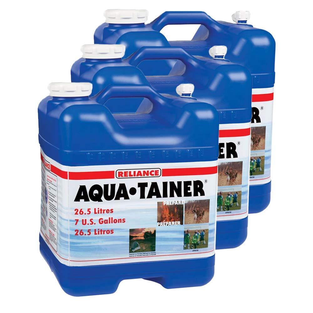 配送員設置 Reliance Products Reliance B07GC86VHF Aqua-Tainer 7ガロン 硬水容器 3パック (7ガロン) 硬水容器 B07GC86VHF, E-WestClub:cfd625d6 --- a0267596.xsph.ru