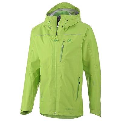 Adidas Outdoor Men's Terrex GTX Active Shell 2 Semi Solar Green Outerwear 2XL: Clothing