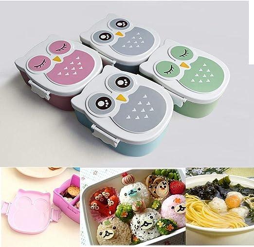 Voiks Fiambreras con Compartimentos Caja de Almuerzo sin BPA ...