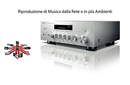 Receiver Hi-fi Technology MusicCAST r-n602 Yamaha: Amazon co