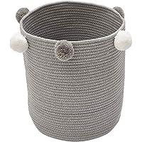 Baffect Canasta de Almacenamiento de Tejido de Cuerda
