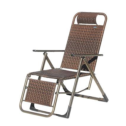 XINGPING Reclinables Pies Planos Tres sillas Plegables de ...
