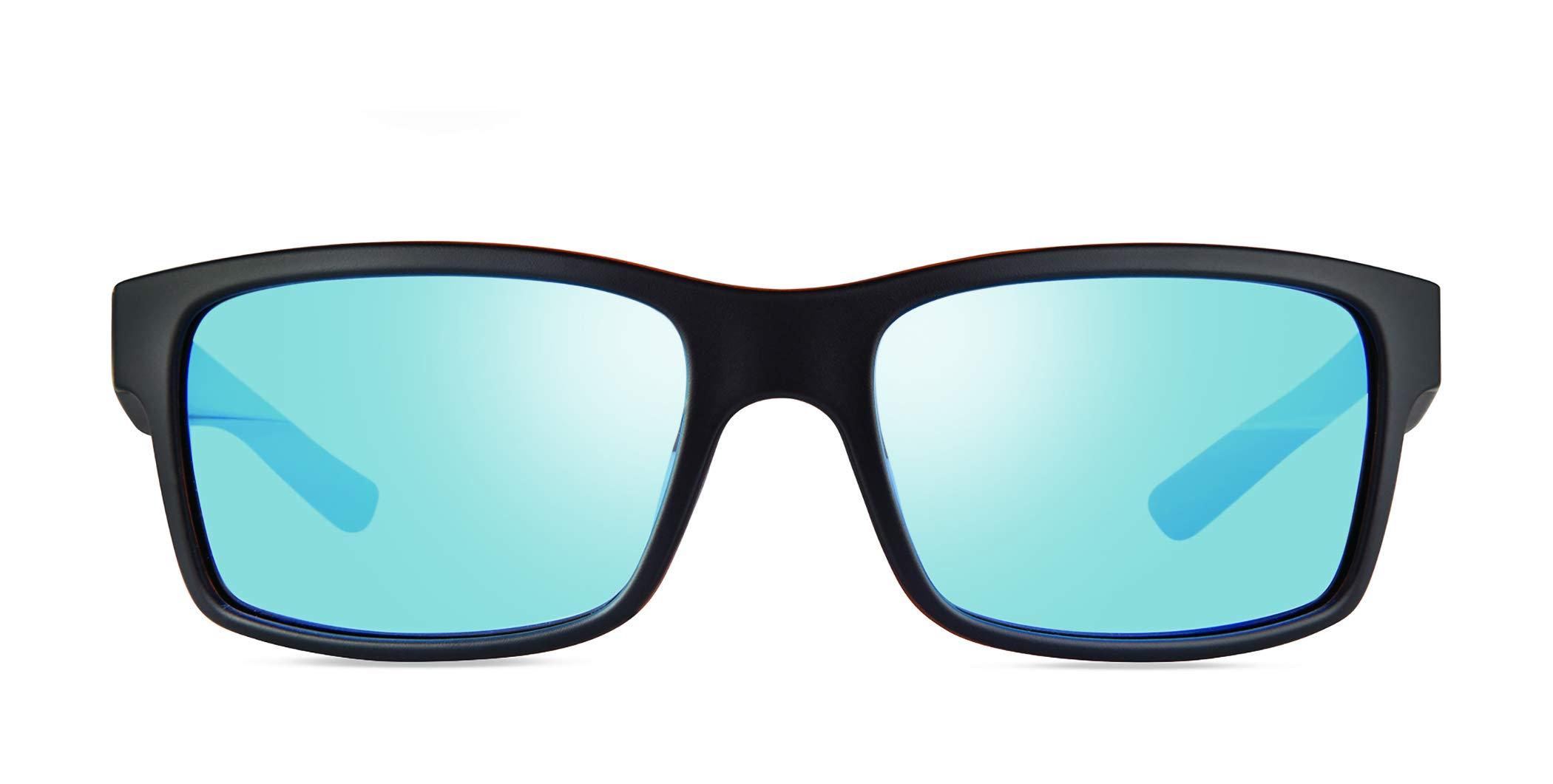 Revo Mens Polarized Sunglasses Crawler XL