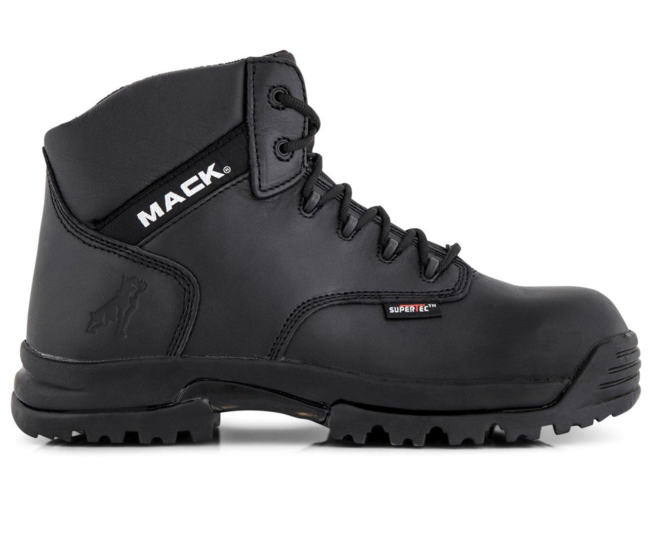 9c20e3eabb6 Mack Men's Titan Composite Safety Boot Black: Amazon.com.au: Fashion