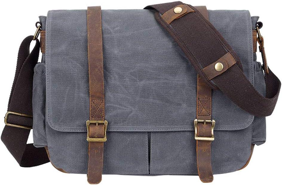 electronic Mens SLR Camera Bag Retro Batik Canvas Shoulder Camera Bag Waterproof Canvas Shoulder Computer Bag