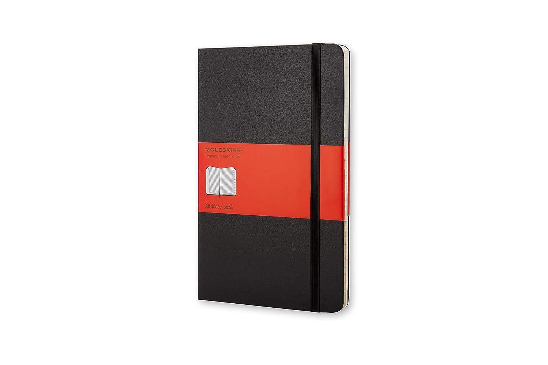 Moleskine QP064 - Libreta de direcciones grande, color negro