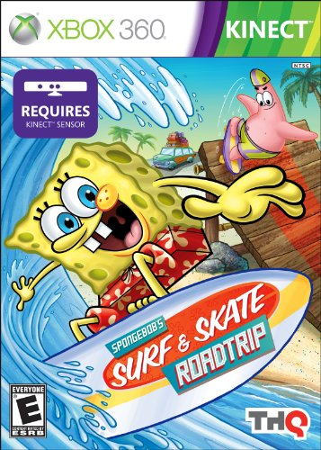 Spongebob Surf & Skate Roadtrip - Xbox 360 (Spongebob Video Games Xbox)