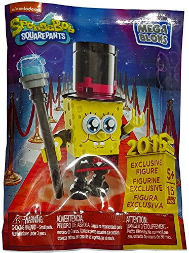 Mega Bloks Spongebob Squarepants Sponge Out of Water Exclusive 2015 (Spongebob Squarepants Water)