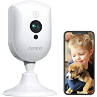 Baby Monitor, Conico 1080P Home Security Indoor Camera with Sound Motion Detection IR Night Vision, Pet Camera with 2…
