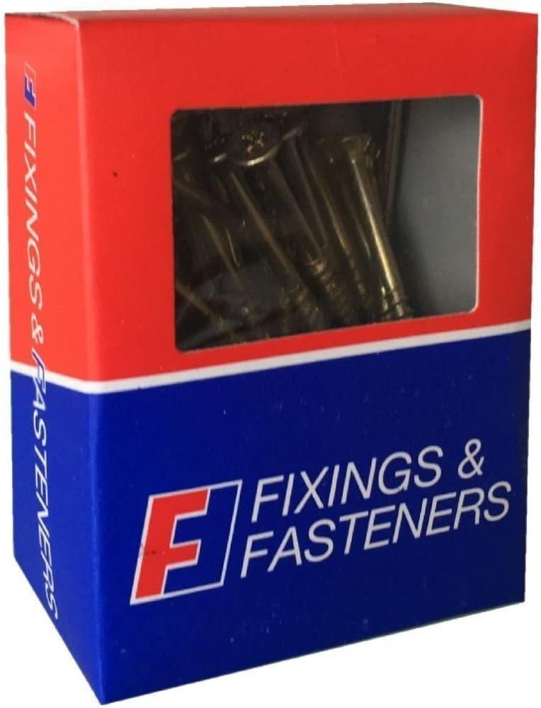 Zinc Yellow Passivated Forgefix MPS670Y Multi-Purpose Pozi Screw