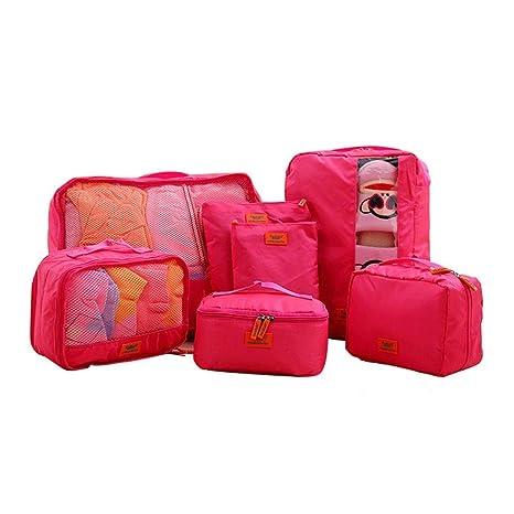 Chengzuoqing Bolsa de Almacenamiento de Viaje 7PCS Packing ...