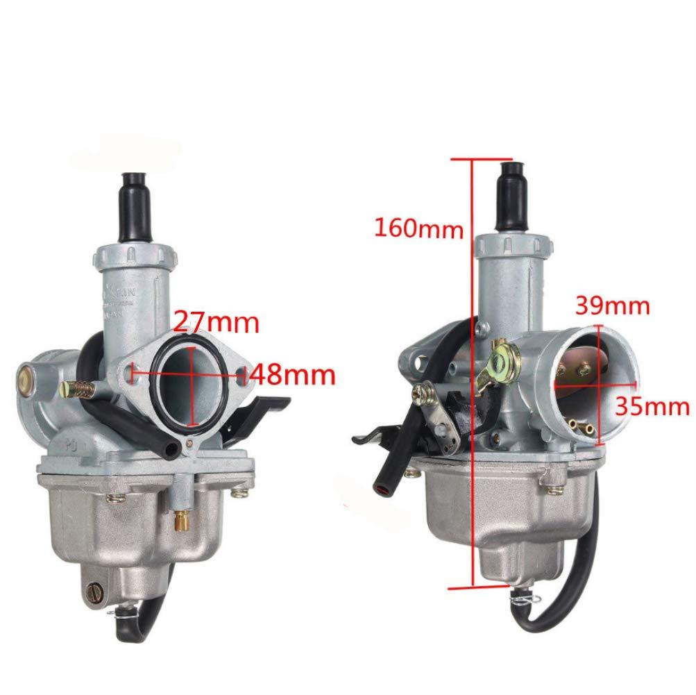 27mm Carburetor /& Air Filter for Honda XR100 XR100R CRF100F XL100S XL125S CB125S XR200 XR200R tianfeng