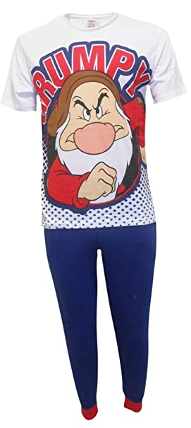 Disney Grumpy Hombres Set de Pijama de Dos Piezas - Pequeño