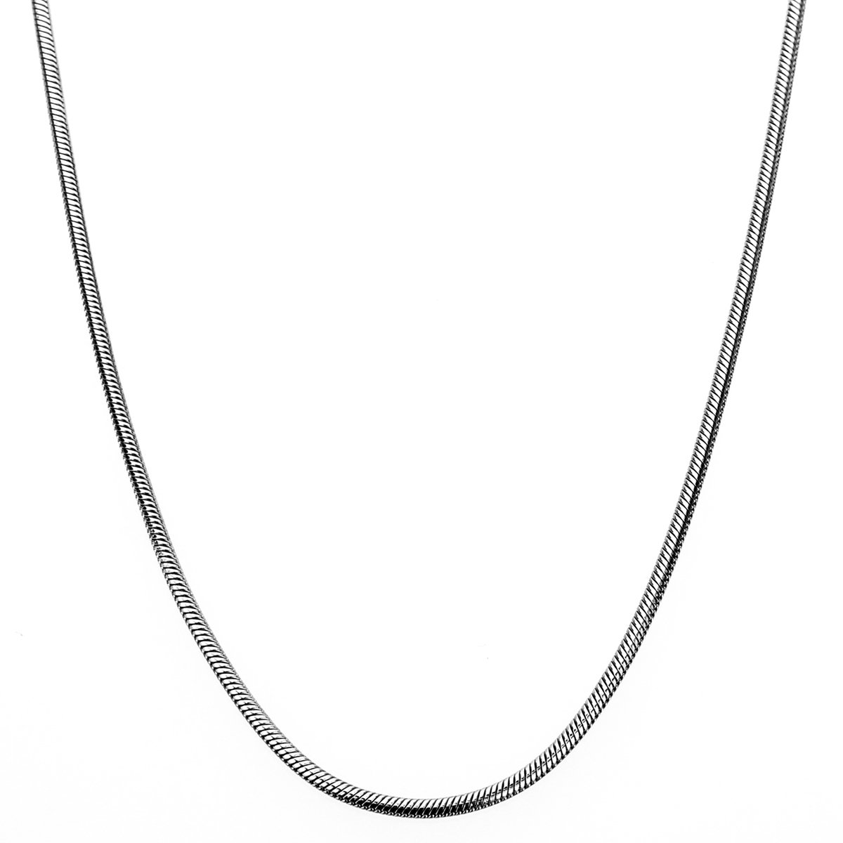 """2mm Stainless Steel Snake Chain Necklace 18/"""" 24/"""" 20/"""""""