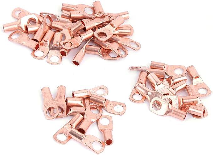 Details about  /Copper Lug Terminal Copper Wire Cable Crimp Connector Portable Large Number