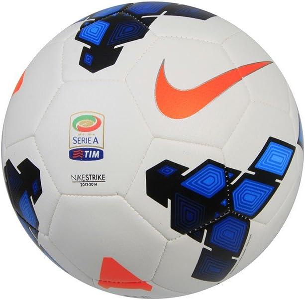 Balón Strike Serie A, blanco - azul: Amazon.es: Deportes y aire libre