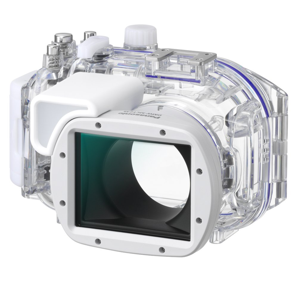 Panasonic DMW-MCTZ35 Marine Case for Select Lumix Cameras (White/Clear) by Panasonic