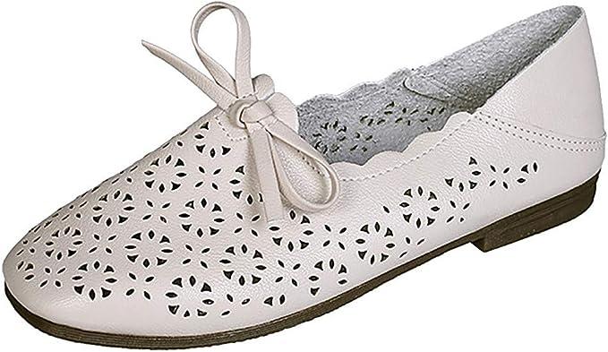 Darringls Sandalias para Mujer, Zapatos para Corror Mujer Zapatillas de Deportiva Slip on Huecos Sneakers para Caminar Walking Calzado Malla Transpirables Loafer Ligeros (Beige, 37): Amazon.es: Ropa y accesorios