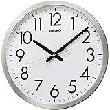 セイコー クロック 掛け時計 アナログ オフィスタイプ 金属枠 KH409S SEIKO