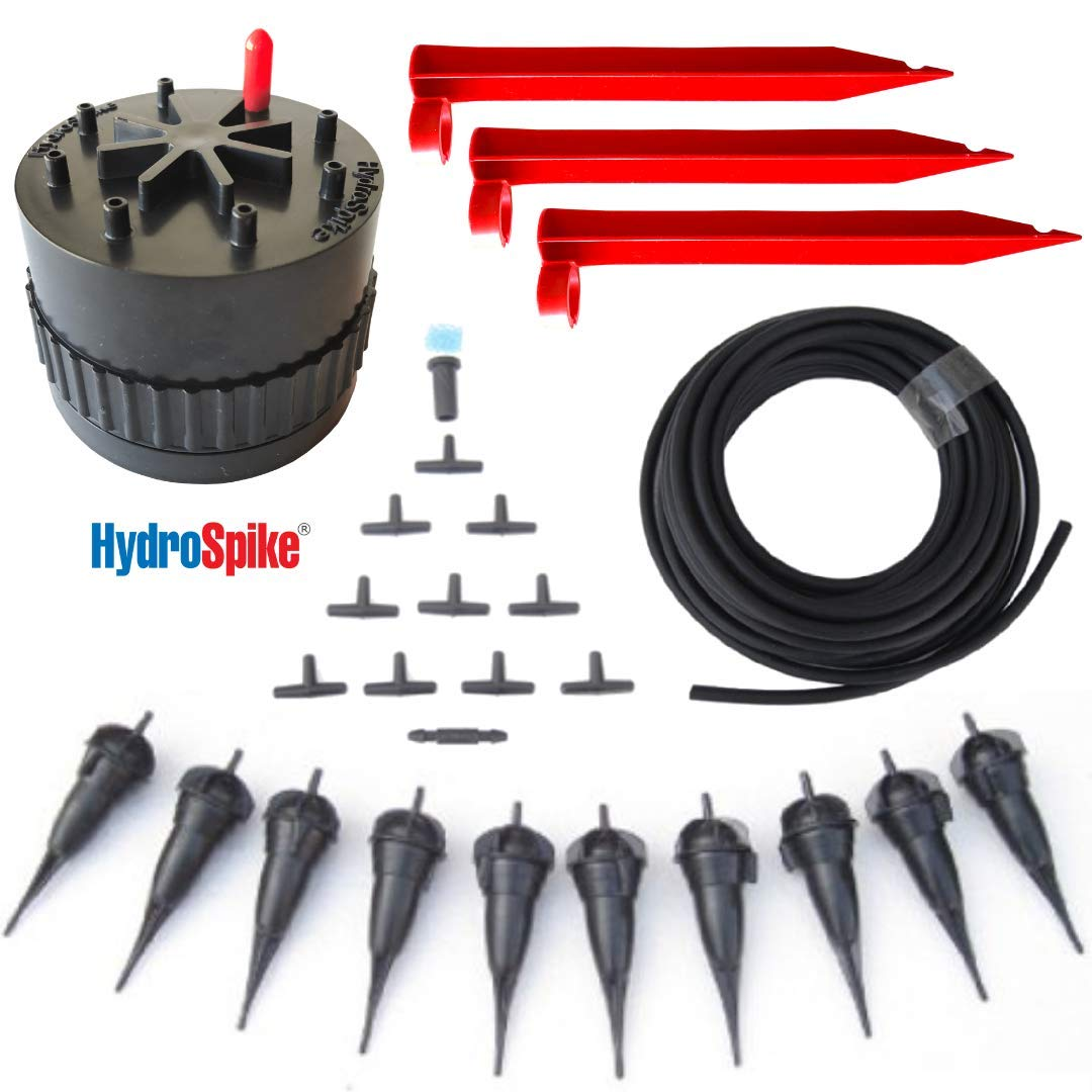 Amazon com : HydroSpike Daisy Hub Dripline System Starter Kit Box