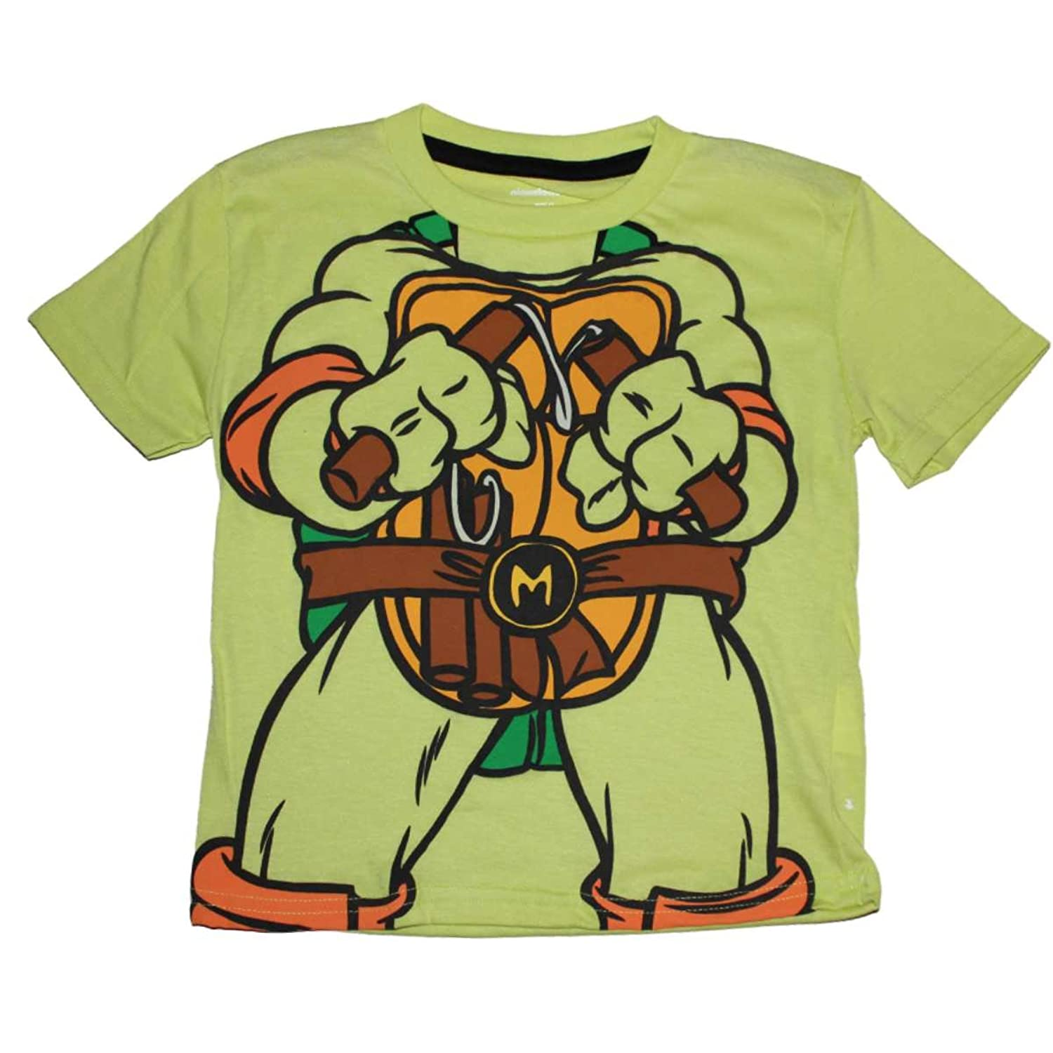 cheap Teenage Mutant Ninja Turtles Michelangelo Little Boys T-shirt big discount