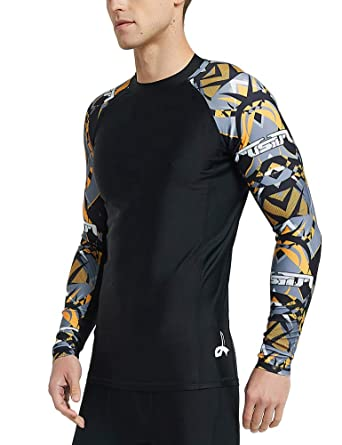 Mens Compression Baselayer Trouser/shirt Skin Tight Breathable Sports Rash Guard A Great Variety Of Goods Men's Clothing Men's Clothing