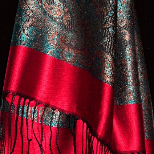 LORENZO CANA Women's Pashmina Silk Scarf
