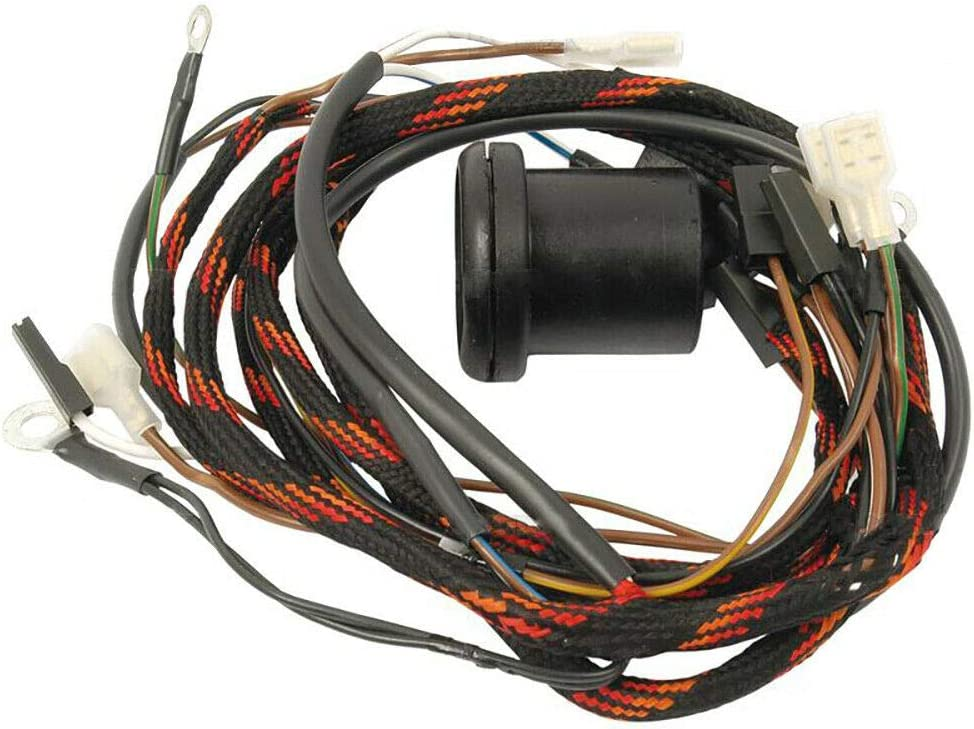 Amazon.com: Wiring Harness Compatible With Massey Ferguson 135 898426M1:  Home ImprovementAmazon.com