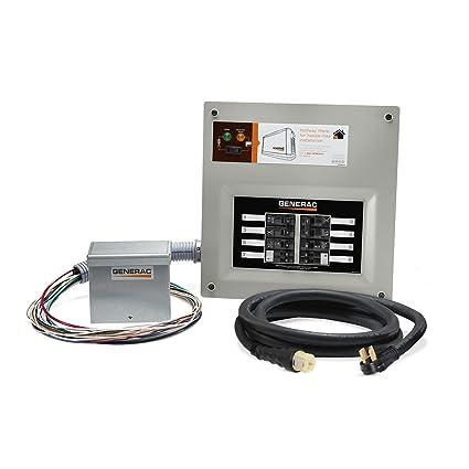 Amazon. Com: generac 9855 homelink 50-amp indoor pre-wired.