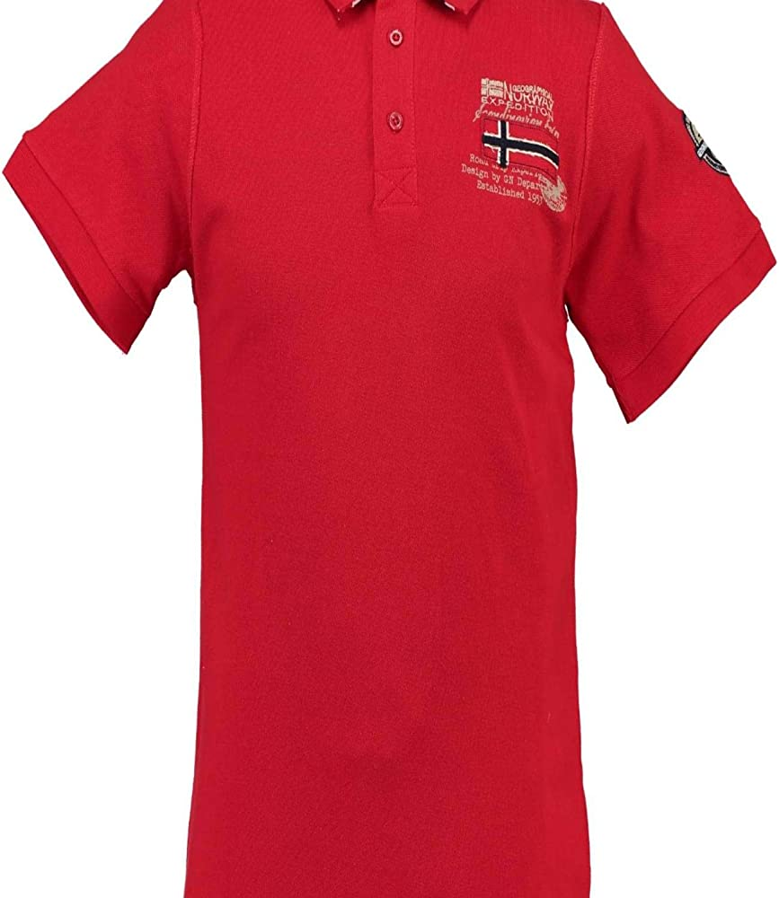 Geographical Norway - Camiseta Tipo Polo 50611 para Hombre ES L ...