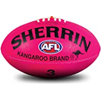 Sherrin AFL KB Synthetic Supergrip Football Pink
