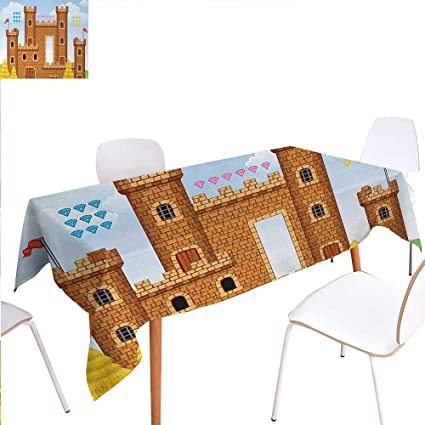 Amazon Com Warm Family Children Dinner Picnic Table Clothvideo Game