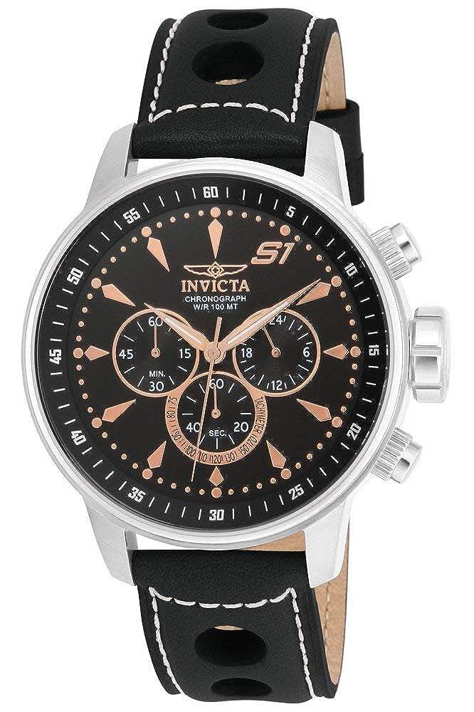 Invicta Men s 16012 S1 Rally Analog Display Japanese Quartz Black Watch