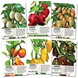 Seed Needs, Habanero Seed Collection (6 Individual Packets) Non-GMO