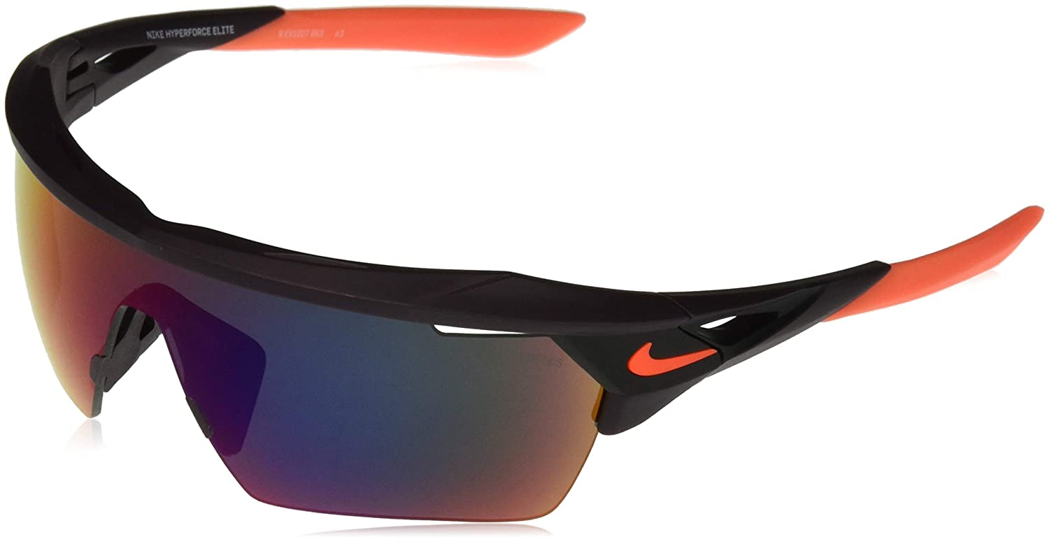 616fdb013f7 Amazon.com  Nike EV1027-016 Hyperforce Elite R Sunglasses (Frame Green with  ML Infrared Lens)